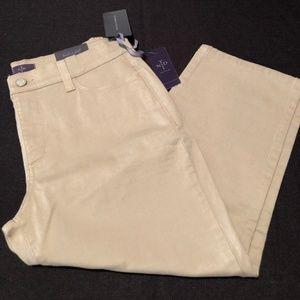 NWT NYDJ Crop Jeans Size 8